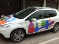 Auto d'autore | Lanzaretti Alberto | Peugeot 2008 | StickyPrint