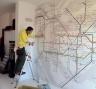 Wall Paper | Applicazione Stampa Ecologica su Parete | Agenzia Luna Rossa