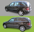 Pellicola Vetri | Mercedes ML | StickySkyGlass