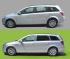 Pellicola Vetri   Opel Astra   StickySkyGlass